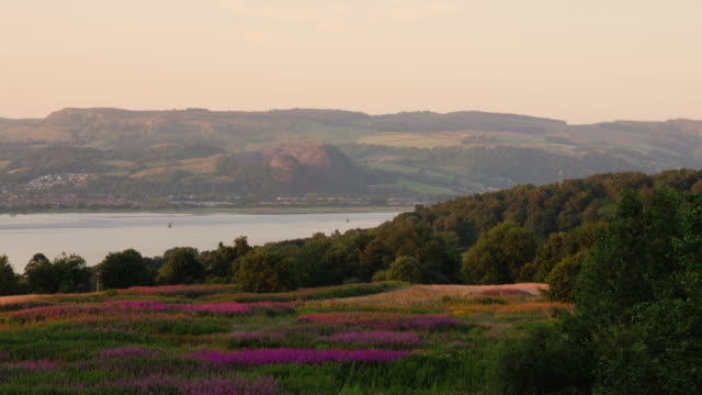 The landscape of River Cart, Scotland