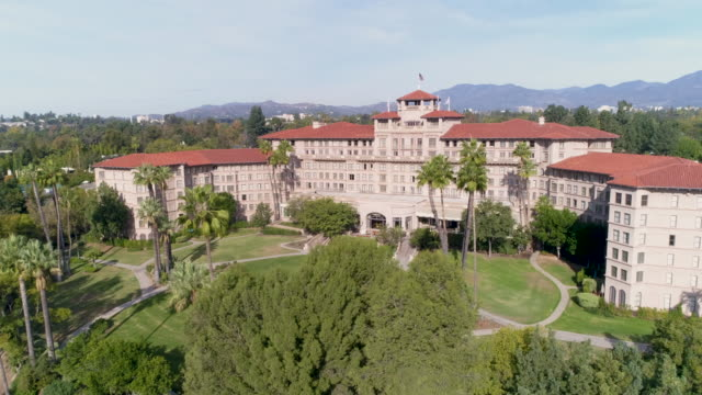 the langham huntington hotel - pasadena california stock videos & royalty-free footage