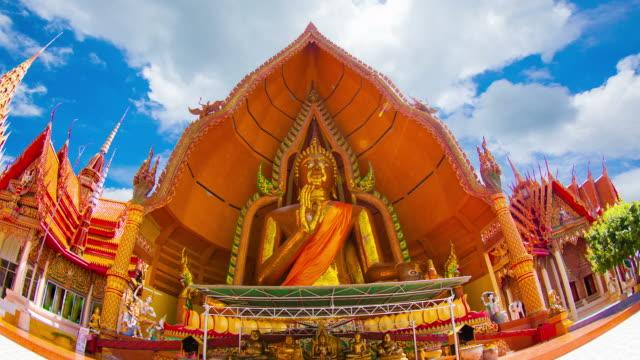 The large Buddha statues wat tham sua.