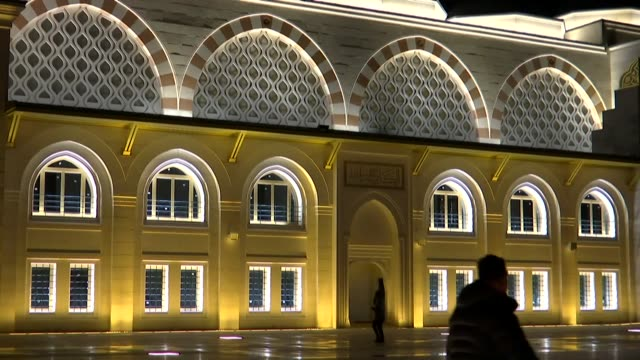 The largest mosque of Turkey opened for worship in Istanbul on Thursday The opening of Camlica Mosque after a sixyear construction period coincided...