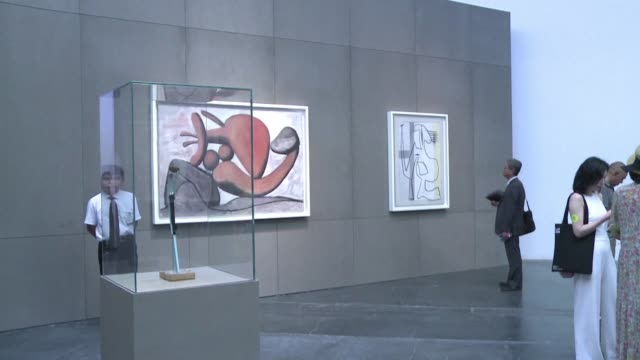 CHN: China's largest ever Picasso exhibition opens