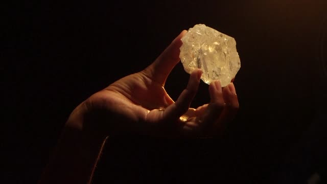 The largest rough diamond discovered in more than a hundred years comes up for auction at Sothebys in London today
