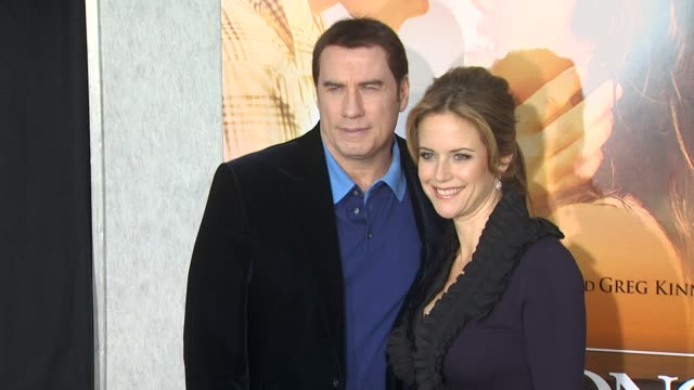 the last song premiere los angeles ca united states 3/25/10 - kelly preston stock-videos und b-roll-filmmaterial