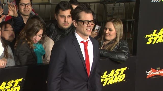 CLEAN The Last Stand Los Angeles Premiere Hollywood CA United States 1/14/13