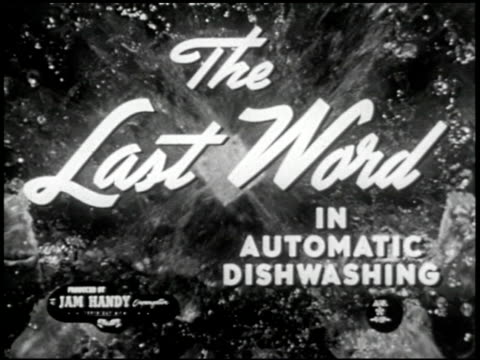 the last word in automatic dishwashing - 1 of 20 - see other clips from this shoot 2286 stock videos & royalty-free footage