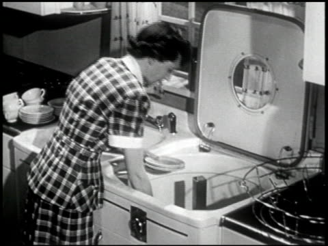 the last word in automatic dishwashing - 5 of 20 - see other clips from this shoot 2286 stock videos & royalty-free footage