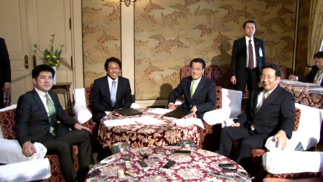 The leaders of the Democratic Party of Japan and the Japan Innovation Party agreed Friday to merge the largest and thirdlargest opposition parties in...