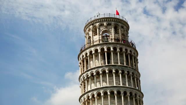 La torre pendente di Pisa nel Campo dei Miracoli