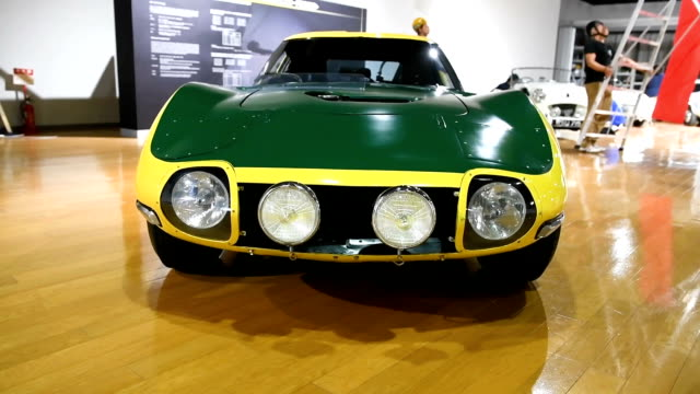 The legendary 2000GT sports car that 007 whizzed around in during 'You Only Live Twice' is heading the pack at an exhibition marking the 50th...
