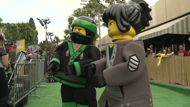 The LEGO saga continues to grow presenting its third title The LEGO Ninjago movie at its Los Angeles world premiere with actors Jackie Chan and Dave...