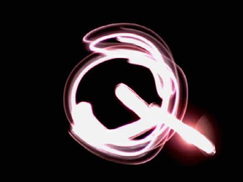 vídeos y material grabado en eventos de stock de the letter q - letra mayúscula