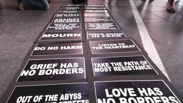 The LGBTQ group Gays Against Guns NYC rallied in Union Square and marched to Times Square in response to the Las Vegas massacre Hundreds marched...