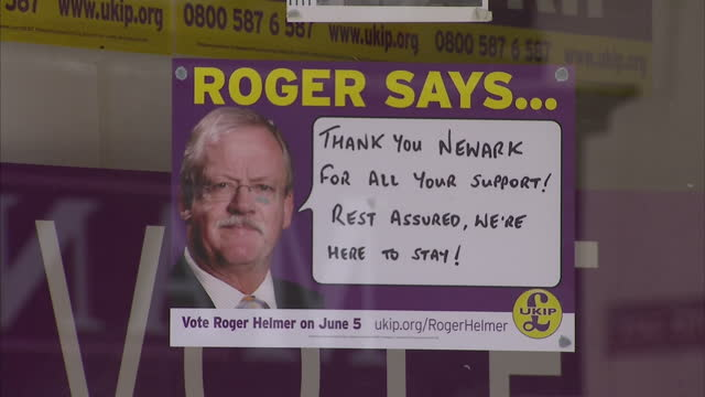 the liberal democrats have suffered another hefty defeat coming sixth in the newark byelection held on to the seat but saw their majority cut by... - british liberal democratic party stock videos and b-roll footage