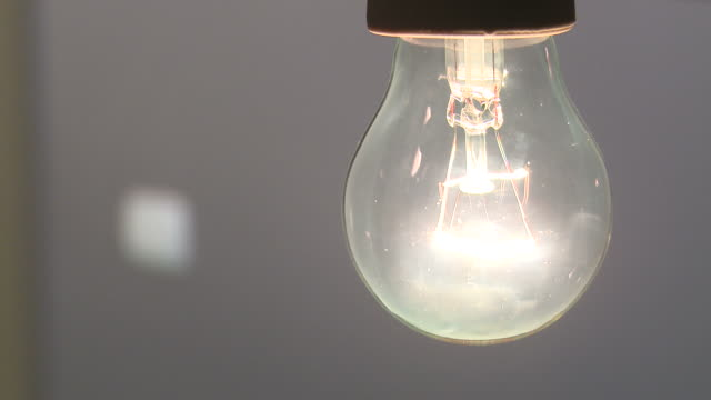 stockvideo's en b-roll-footage met hd: the light - electric lamp