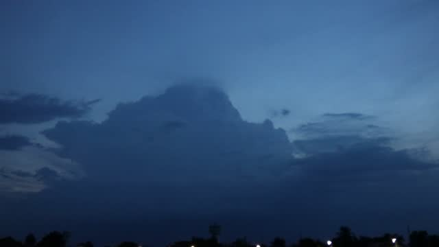 the lightning flashed in the cloudy early morning. - storm cloud stock videos & royalty-free footage