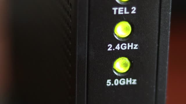 the lights of the modem are blinking - blinking stock videos & royalty-free footage