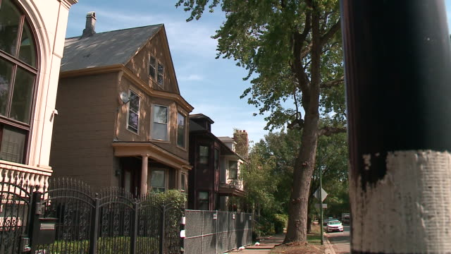 "the lincoln park home in chicago featured in the opening credits of the 1990's sitcom ""family matters"" was been approved for demolition on sept. 21,... - television show stock videos & royalty-free footage"