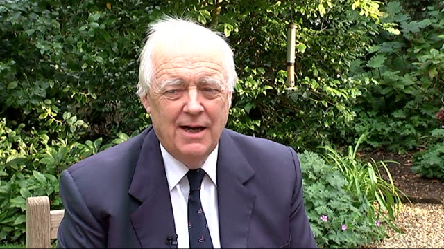 'the lion king' becomes biggest musical of all time sir tim rice interview sot i owe a lot to the swahili phrase book one had to write words and tell... - tim rice stock videos and b-roll footage