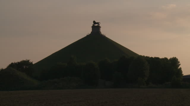The Lion's Mound at Waterloo