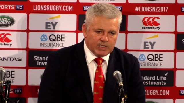 The Lions threw away a commanding position in a 3131 draw with the Hurricanes their final midweek fixture in Wellington on Tuesday then Gatland...