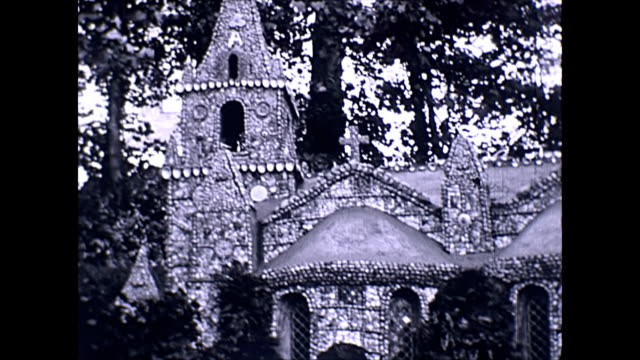 the little chapel guernsey early footage - chapel stock videos & royalty-free footage