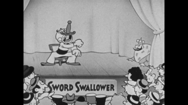 the little king watches a sword swallower - stained clothes stock videos and b-roll footage