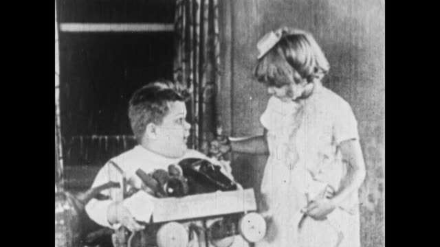 1926 the little rascals realize their positive thinking was successful - 1926 stock videos & royalty-free footage