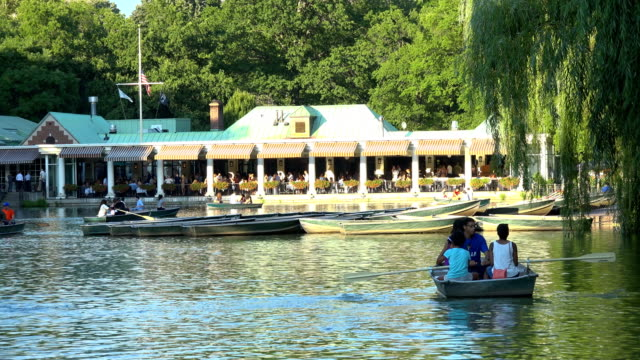 The Loeb Boathouse & Restaurant & Central Park Lake, New York City