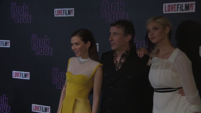 CHYRON 'The Look Of Love' UK Film Premiere EVENT CAPSULE CHYRON 'The Look Of Love' UK Film at Curzon Soho on April 15 2013 in London England
