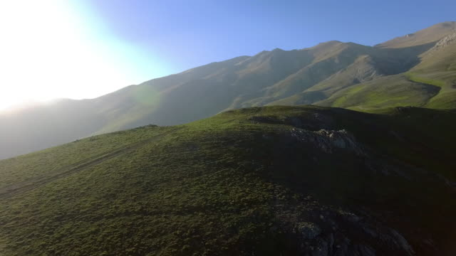 the lush green mountainous planes of javaher dasht, iran. - david ewing stock videos & royalty-free footage