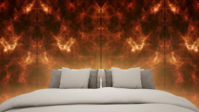 the luxury bedroom and marble wall background - marble wall stock videos and b-roll footage