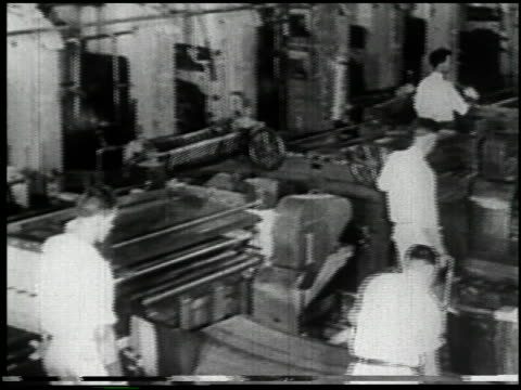the machine: master or slave? - 6 of 16 - 1945 stock videos and b-roll footage