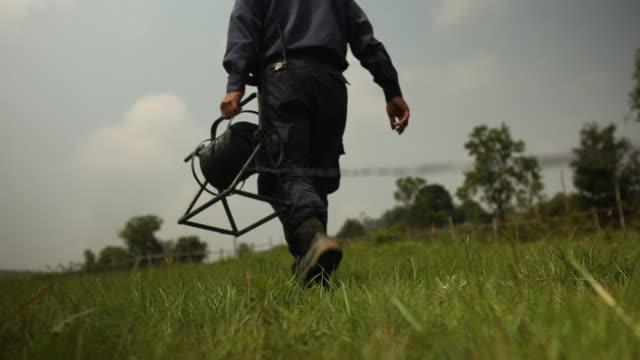 the mag searches for and safely detonates mines and unexploded bombs in laos. - laos stock videos & royalty-free footage