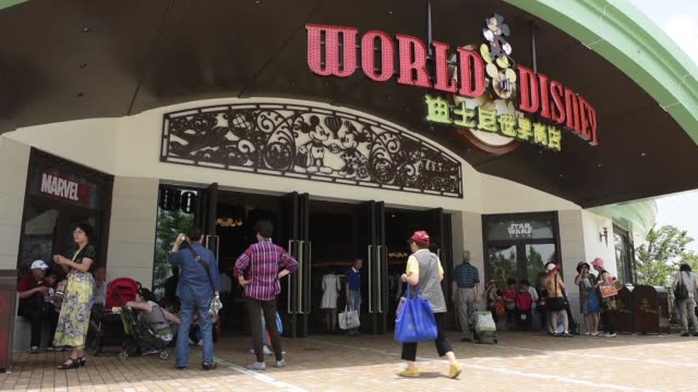 the magic kingdom comes to the middle kingdom this week when disney opens its first theme park in mainland china betting the growing middle class... - economy class stock videos & royalty-free footage
