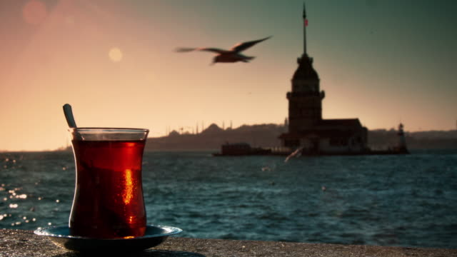 The Maiden's Tower and Tea