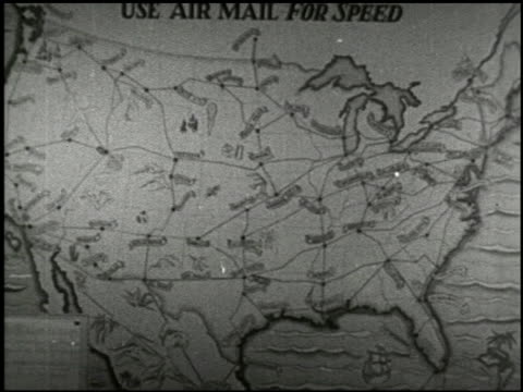 the mail: a story of the united states postal service - 11 of 12 - united states postal service stock videos & royalty-free footage