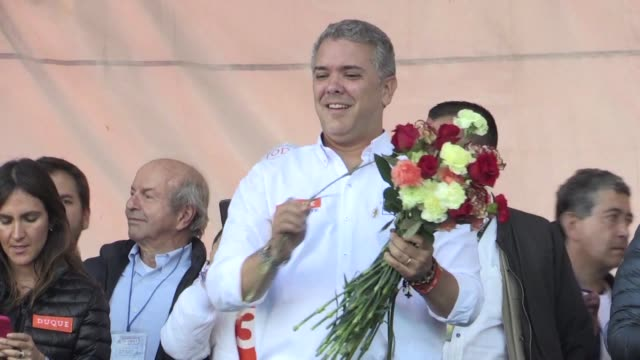The main candidates running to be Colombia's next president are Ivan Duque of the Centro Democratico party Gustavo Petro of the Colombia Humana party...