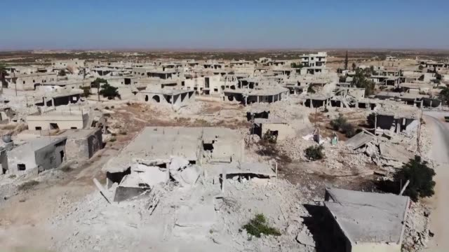 the main jihadist alliance in syria's idlib region reached a deal ending days of deadly fighting with rival rebels and extending its influence over... - jihad stock videos & royalty-free footage