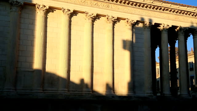 The Maison Carrée, Nîmes, Gard, France