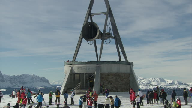 The majestic Concordia, bell on the summit