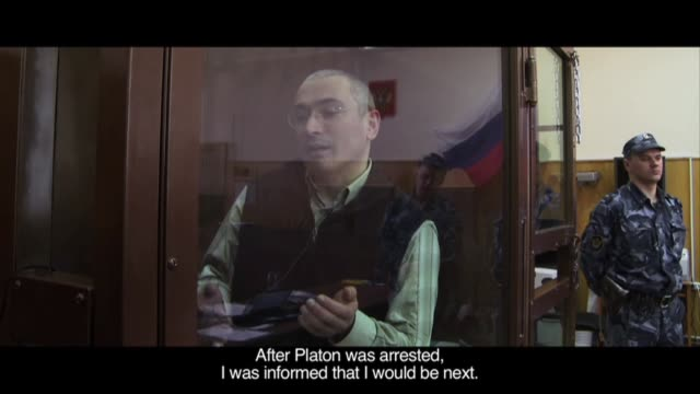 the maker of a twice-stolen documentary on jailed russian former oil tycoon mikhail khodorkovsky, the hottest ticket at the berlin film festival, is... - documentary film stock videos & royalty-free footage