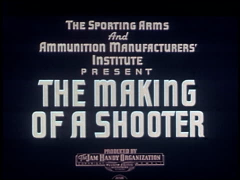 the making of a shooter - 1 of 23 - see other clips from this shoot 2289 stock videos & royalty-free footage