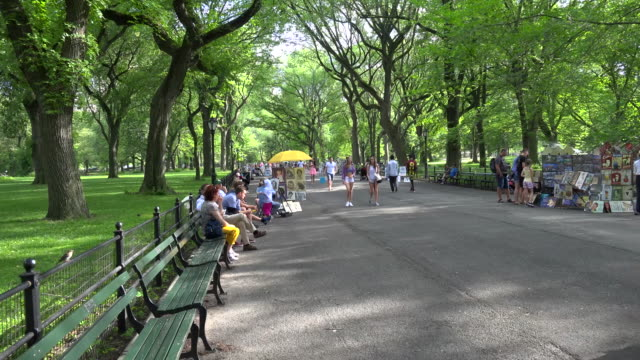 The Mall, Central Park, New York City