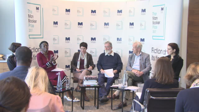 clean the man booker prize shortlist announcement on september 13 2017 in london england - man booker prize stock videos & royalty-free footage