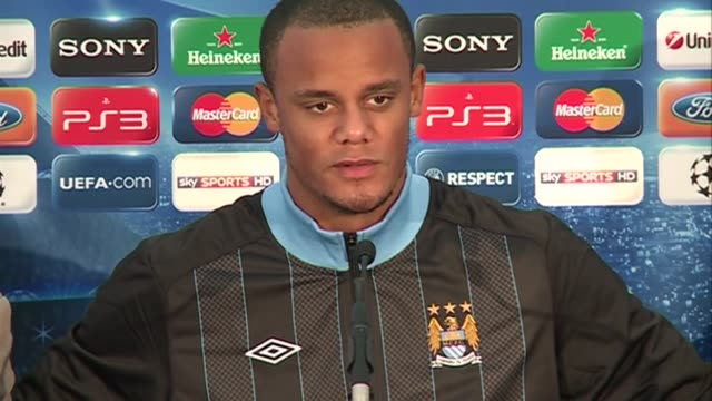 The Manchester City defender on how City have a tough job in the Champions League but the team are highly motivated for the next game on how he...