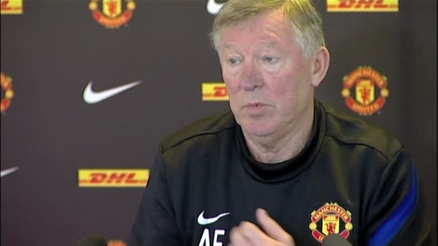 the manchester utd boss covers vidic long term injury and other injuries champions league failure and need to win the europa league and fa's... - injured stock videos & royalty-free footage