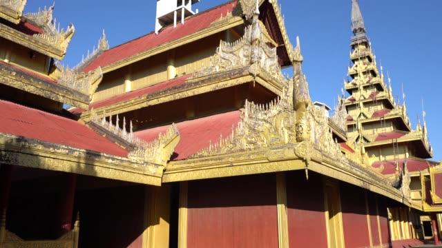 Der Königspalast Mandalay in Myanmar