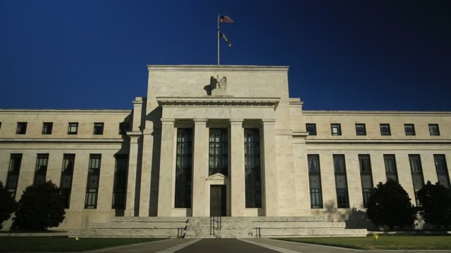 The Marriner S Eccles Federal Reserve building stands in Washington DC US on Friday Nov 17 2017 Photographer Andrew Harrer � Shots wide shot of...