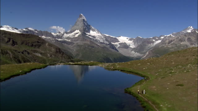 the matterhorn - distant stock videos & royalty-free footage