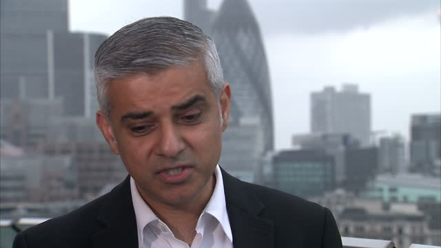 the mayor of london has told sky news the way politics in this country is conducted is poisonous speaking to our political editor faisal islam sadiq... - jo cox politician stock videos and b-roll footage